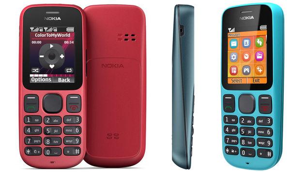 Nokia 100 und Nokia 101