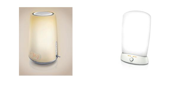 Philips Wake-upLight und Philips EnergieLight