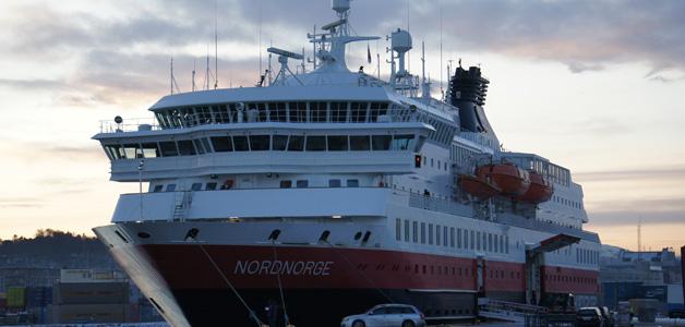 Hurtigschiff MS Nordnorge