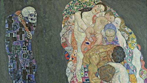 Gustav Klimt Tod und Leben 1910