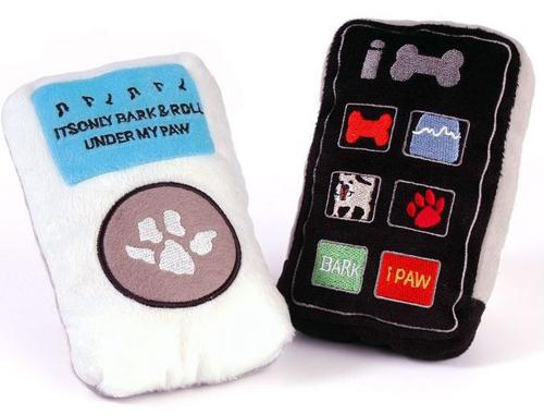 iPaw- und iBone Hundespielzeug
