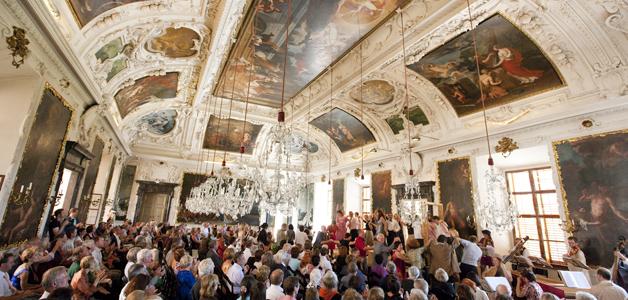 Schloss Eggenberg Planetensaal - styriarte