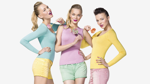 Benetton Pin up Kollektion