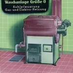 Miele_So oder ähnlich könnte die älteste Gewerbewaschmaschine Deutschlands aussehen: Eine historische Miele-Waschanlage aus den frühen 1950er Jahren.