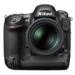 Nikon D4 85 1.4 front