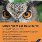 Lange Nacht der Naturparke Niederösterreichs 15.09.2012, ©Naturparke Niederösterreich