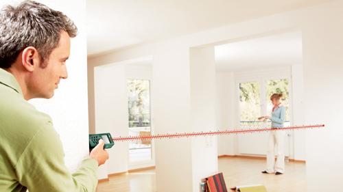 laser wasserwaage pll1p laser entfernungsmesser plr 25 kleine helferlein von bosch im test. Black Bedroom Furniture Sets. Home Design Ideas