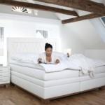 schlafen wie auf wolken evolution und excelsior betten programm von musterring sempre. Black Bedroom Furniture Sets. Home Design Ideas