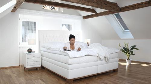 boxspringbetten von ada schlafkomfort nach ma sempre. Black Bedroom Furniture Sets. Home Design Ideas