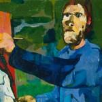 OSKAR KOKOSCHKA 1886–1980 Der Maler II (Maler und Modell II), 1923 Saint Louis Art Museum, Nachlass von Morton D. May © Fondation Oskar Kokoschka/VBK, Wien 2013