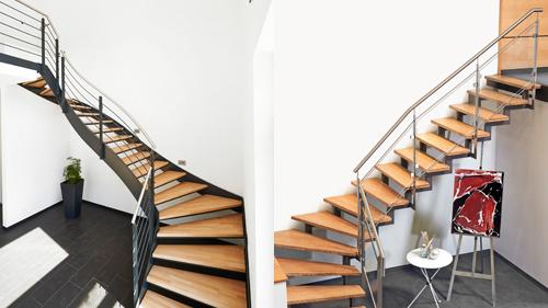 massivholzstufen von fuchs treppen wohnlich und umweltfreundlich sempre. Black Bedroom Furniture Sets. Home Design Ideas