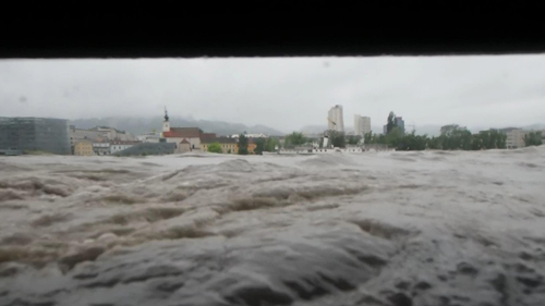 Linz geht unter - Hochwasser 2013