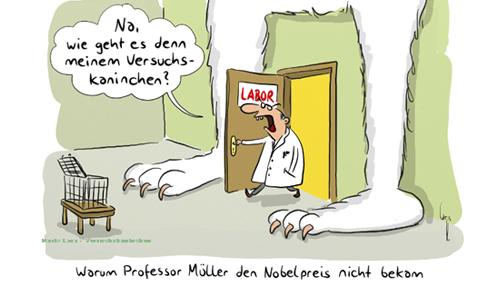 Mario-Lars-Versuchskaninchen