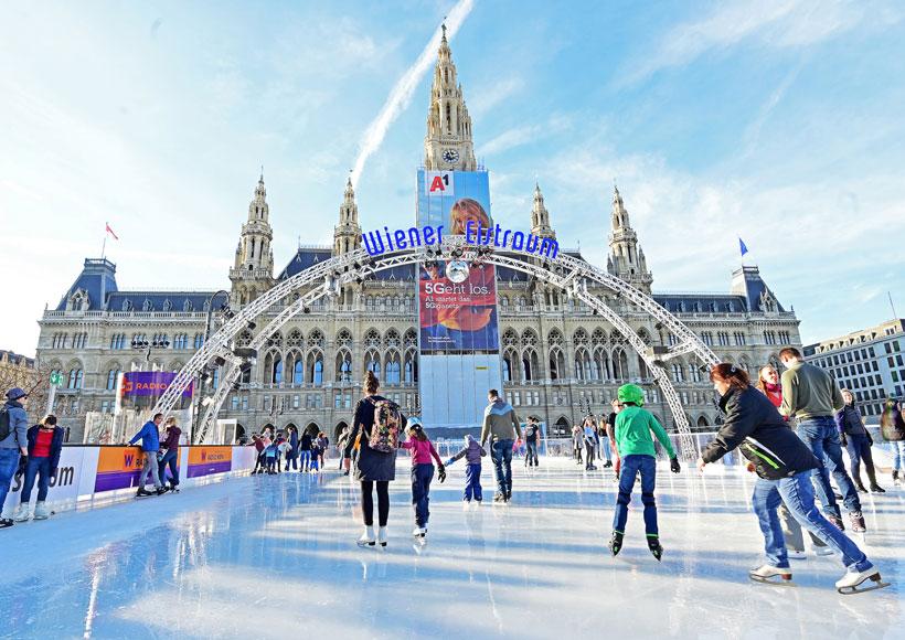 Wiener Eistraum öffnet vorzeitig © stadtwienmarketing